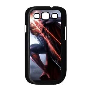 Samsung Galaxy S3 9300 Cell Phone Case Black Superman ZAA Custom Hard Phone Case