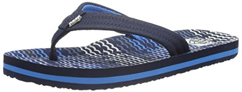 Reef Ahi Boys' Flip Flop (Toddler/Little Kid/Big Kid),Blue Horizon Waves,13/1 M US Little Kid (Flops Flip 1)