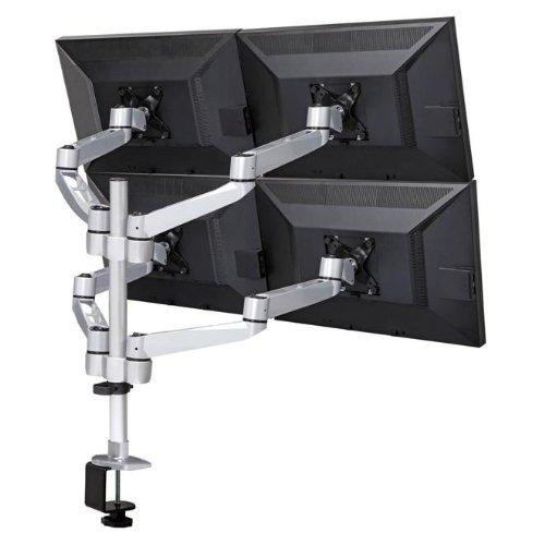 Mount-It! MI-63156 Quad Articulating, Full Motion, Arm Desk