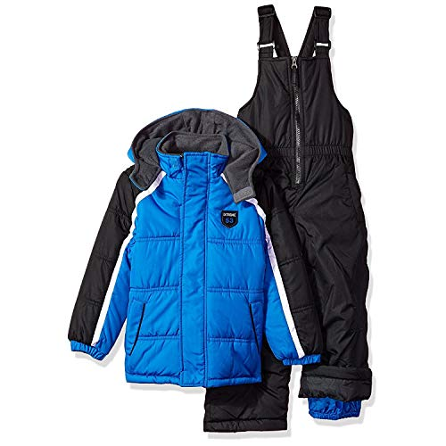 iXtreme Boys' Baby Active Colorblock Snowsuit, Royal, 12M