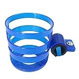 VORCOOL Stroller Drink Holder Bike Cup Holder Water Bottle Holder Rack Cage for Stroller Bicycle (Blue)
