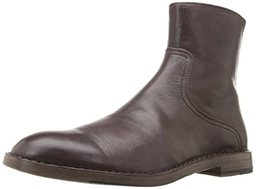 Frye Mens Marchio Interna Con Cerniera Stivale Marrone Scuro