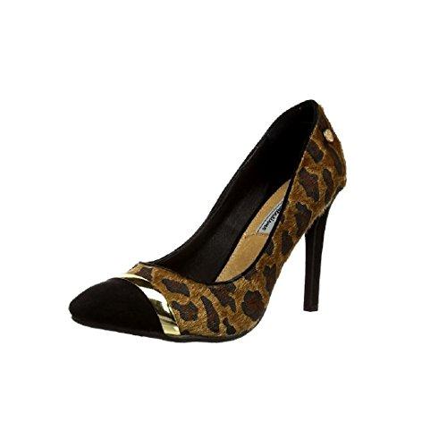 Zapato de Tacón XTI combinado camel
