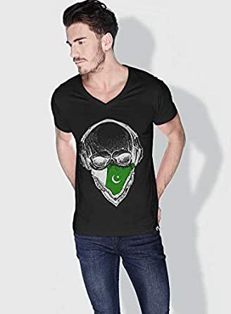 Creo Pakistan Skull T-Shirts For Men - Xl, Black