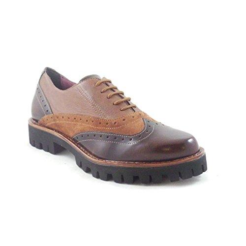 Aeros - Zapatos de cordones para mujer marrón marrón