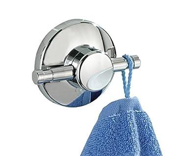 Magic Loc Handtuchring Handtuchhalter verchromt Befestigen ohne bohren