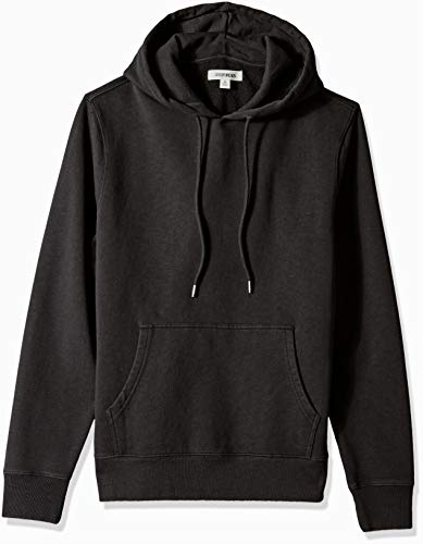 Goodthreads Men's Pullover Fleece Hoodie, Black, X-Small ()