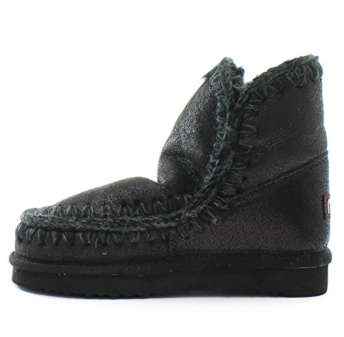 Mou Botas Eskimo 18 Cracked Black Grey Cracked Black Grey