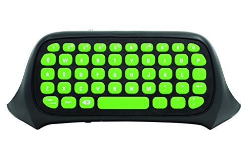 (Snakebyte KEY: PAD - Attachable Wireless Keyboard for your XBOX One Controller / Controller - QWERTY - Xbox Gaming)
