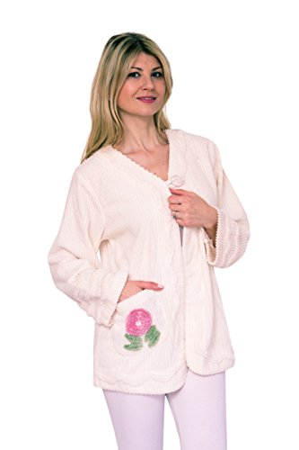 Embroidered Bath Robe - 6