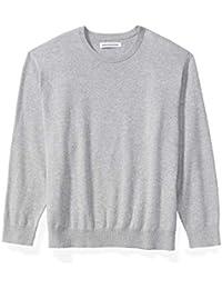 Men's Big & Tall Crewneck Sweater fit by DXL