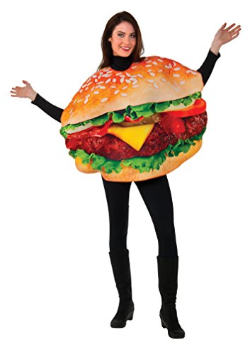 Taco Dress Womens Costumes (Rubie's Men's Burger Costume, Multi, One Size)