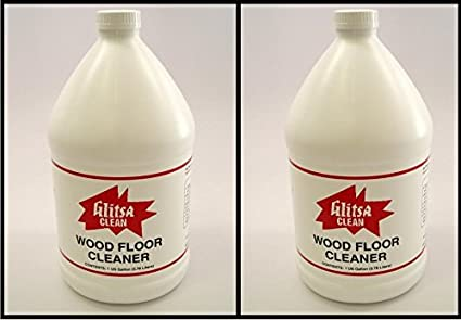Glitsa Wood Floor Cleaner Gallon Concentrate 378 Liters 2 Pak