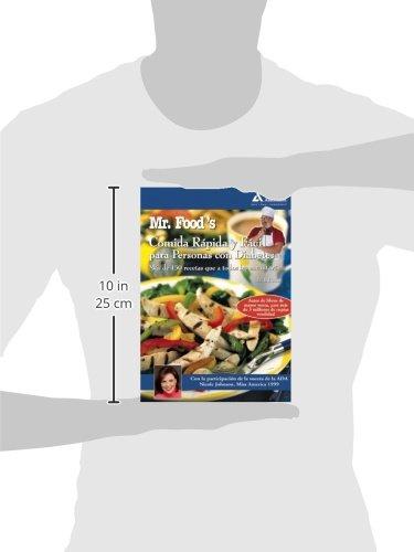 Mr. Food's Comida Rápida y Fácil para Personas con Diabetes (Spanish Edition) by Brand: American Diabetes Association