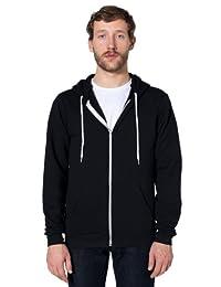 American Apparel Men's Unisex Flex Fleece Zip Hoodie