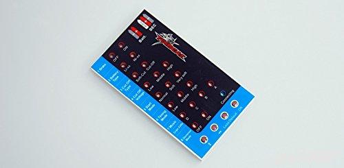 (TOMCAT Skylord Brushless ESC Electronic Speed Control Programming Card DTM-1001)