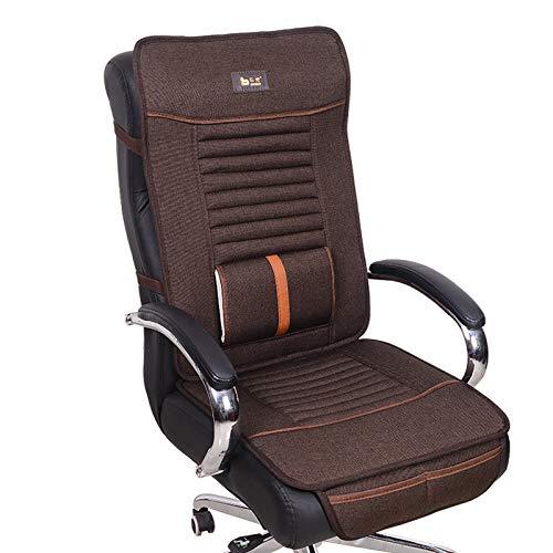 Amazon.com: KTOL - Cojín para silla de oficina, de lino ...