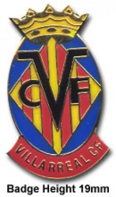 Villarreal Crest Pin Badge