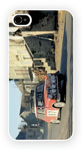 Austin Mini Cooper Rally Colour, iPhone 5 5S, Etui de téléphone mobile - encre brillant impression