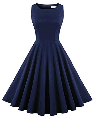 Newdow Womens Boat neck Hepburn Style product image