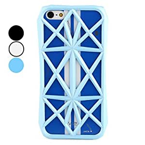 Mesh Design Hard Case for iPhone 5/5S (Assorted Colors) --- COLOR:Blue