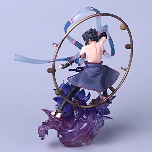 LYN Naruto-18CM Naruto Fengshen Modelo Juguetes Sasuke ...