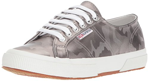 Superga Women 2750 Army Chromw Sneaker Grey