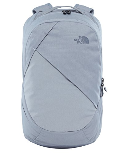 The North Face Womens Isabella Backpack Metallic Silver Dark Heather / Vaporous - The North Sunglasses Face
