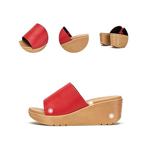Sort Kile Sko Komfortable Sommer Simple Afslappet Sandaler Kvinder xw1aIaqnA