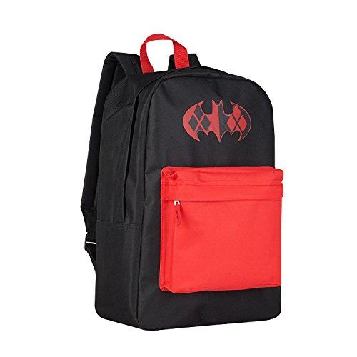 Quinn Zip (Batman HArley Quinn Canvas Zip Pocket Backpack)