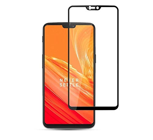 Oneplus 6 Screen Protector, 5D Curved Full Cover Tempered Glass
