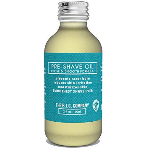 The B.I.G. Company's Vor Rasur Öl - Bartöl - 60ML - Für die glatteste Rasur überhaupt