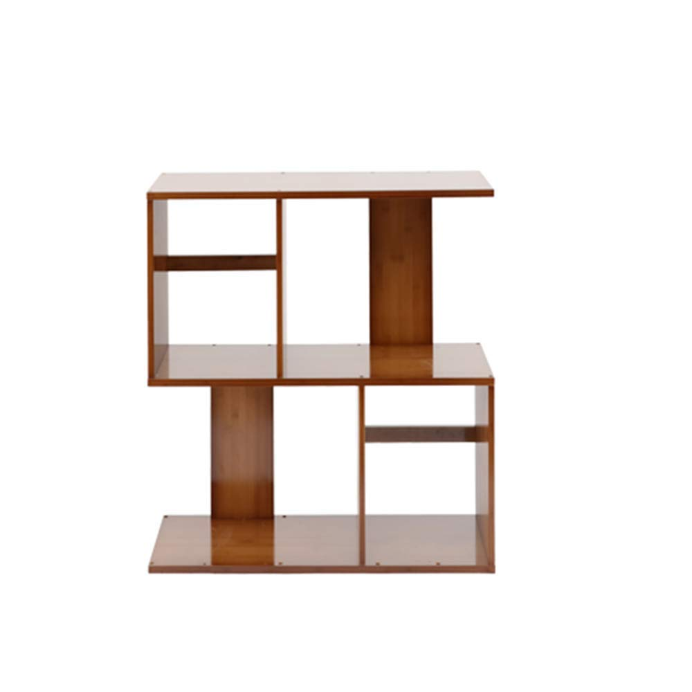 (Second floor)6024.568.5cm DYR Bamboo Shelf S Shape Storage Unit Chest Bookshelf Cabinet Cabinet Cabinet Home Office Furniture (Dimensions  (Second Floor) 60  24.5  68.5 cm)