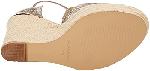 byblos Damen Covered Wedge Riemchensandalen Oro (Oro)