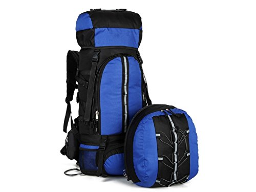 ADream Dauerhaft Große Kapazität Wandern Klettern Bag Bag Bag 80L Outdoor Bergsteigen Rucksack (Blau) B07GB4JYHH     | Verkauf Online-Shop  e9c921