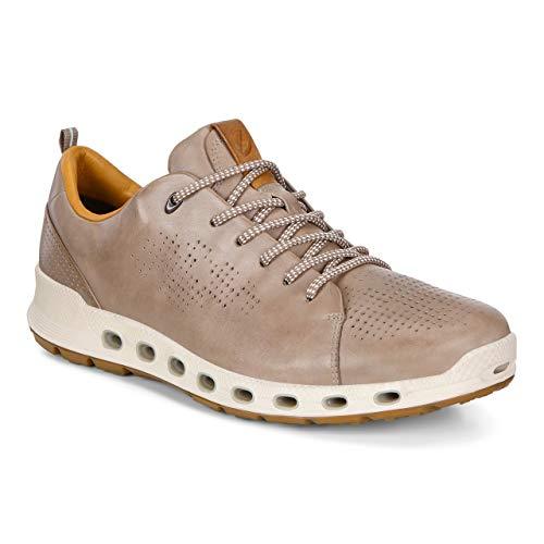 ECCO Men's Cool 2.0 Leather Gore-TEX Sneaker Warm Grey Retro 47 M EU (13-13.5 US)