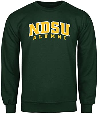 North Dakota State Dark Green Fleece Crew NDSU