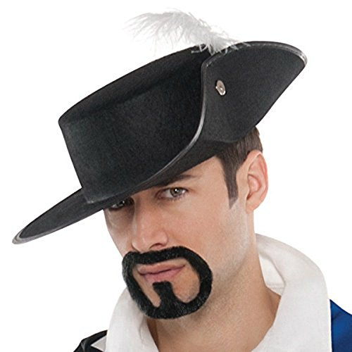 Musketeer Costume Accessories (Amscan Musketeer Hat Costume Accessories)