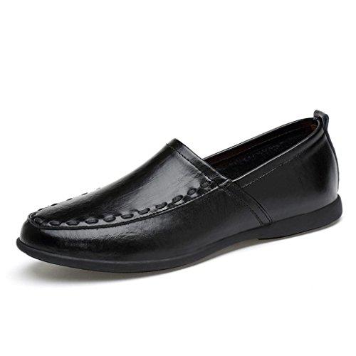 new arrival 2138b 15ecf Aire Zapatos Black Jóvenes Vestir De Trabajo Libre Casuales M Hombre Cuero  amp m Al Para Marea 4nqp7Sx