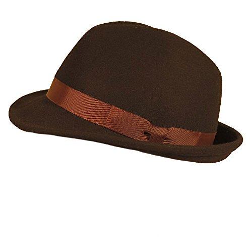 Negro Sombrero hüte Vestir De Hombre Diefenthal Para 8PqgA