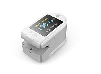 Amazon com: EMAY Bluetooth Pulse Oximeter with App for iPhone