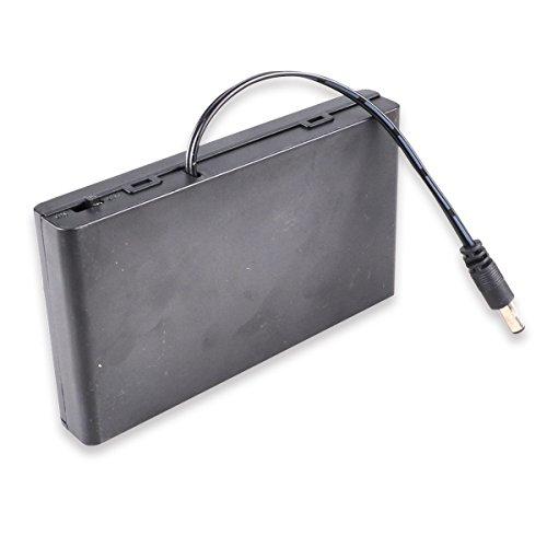 HTTX 12V AA Battery Pack, 8 x 1.5v AA Battery Case
