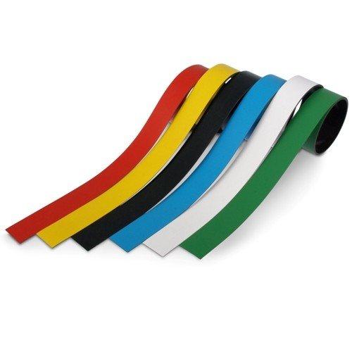 Breite 30 mm Meterware rot Magnetband Kennzeichnungsband