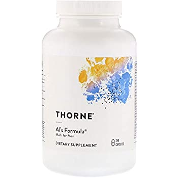 Thorne Research - Al's Formula - Basic Nutrients for Men over 40-240 Capsules