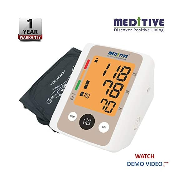 MEDITIVE Automatic Blood Pressure Monitor India