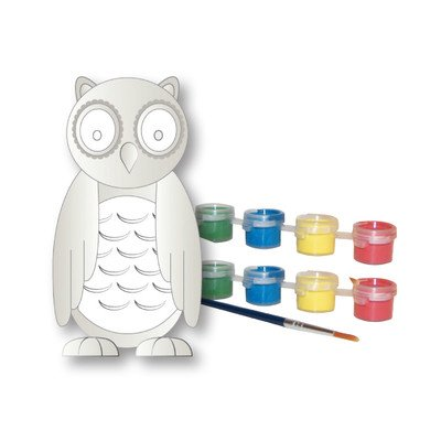 Sassafras My Little Garden: Paint Your Own Ceramic Garden Owl Paint Kit