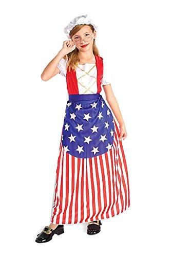 Forum Novelties Child's Betsy Ross Red, White, & Blue Costume ()