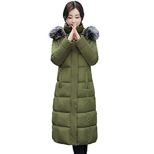 Women's Outwear, FORUU Outerwear Button Coat Long Cotton-Padded Jackets Pocket Hooded Coats ()