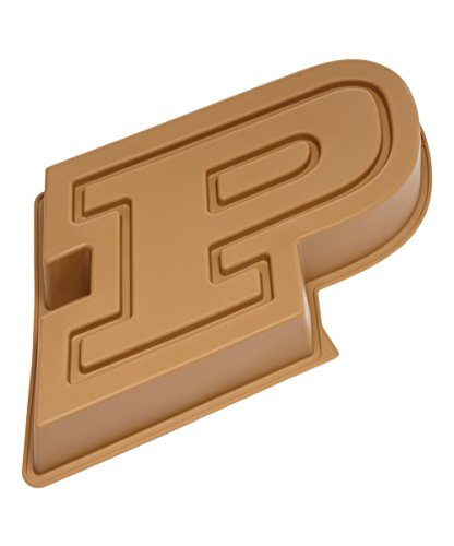 MasterPieces NCAA Purdue Boilermakers, Cake Pan with Stand, Gold (Purdue Cake Topper)