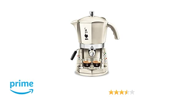 Girmi Mokona - Máquina de café, blanca crema